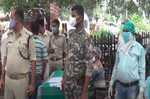 स्वास्थ्य विभाग ने लगाया कोविड जांच शिविर, पुलिस अधिकारी से लेकर कर्मियो ने करायी जांच