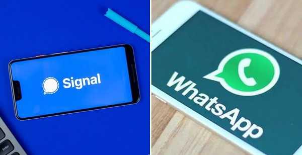 Signal ऐप की डाउनलोडिंग बढ़ी, WhatsApp हुआ पीछे